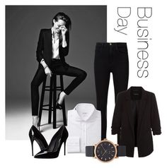 """""""Business Day"""" by ava-l-r ❤ liked on Polyvore featuring Frame, New Look, Dolce&Gabbana and Marc Jacobs"""