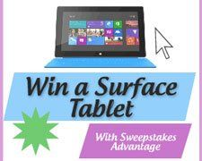 Win a Microsoft Surface Tablet