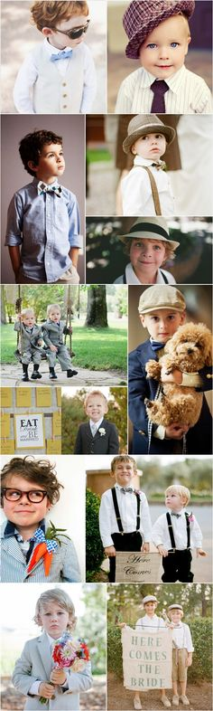 yes! to pretty much all of them :) adorable ring bearers!