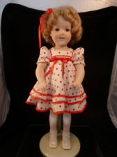 SHIRLEY TEMPLE LARGE PORCELIAN DOLL  MINT CONDITION