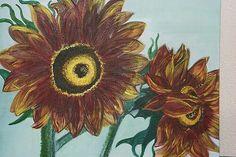 Sunfloeers braun yellow