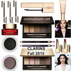 осенняя коллекция Clarins 2015 fall makeup collection
