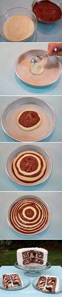 Tutorial pastel d cebra