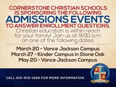 Go online to http://www.sa-ccs.org/home/ for more information!