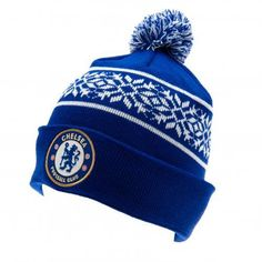 Chelsea FC Authentic EPL Knitted Ski Hat: We buy our Chelsea soccer hats direct from the club's representatives in the UK. All Chelsea knit hats come in official Chelsea FC protective packaging with hologram and/or bar codes. Chelsea Fc, Chelsea Soccer, Sf Football, London Football, Bonnet Ski, Chelsea Wallpapers, Football Accessories, Football Memorabilia, Soccer Gifts