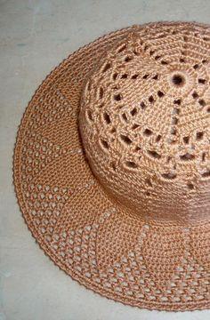 Best 12 Than Fedora Hat Crochet Pattern Free 15 – SkillOfKing. Sombrero A Crochet, Crochet Beanie, Crochet Hats, Diy Crafts Crochet, Crochet Projects, Knitting Patterns, Crochet Patterns, Crochet Summer Hats, Floppy Sun Hats