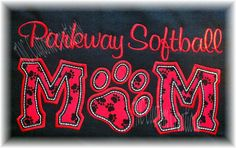 Parkway Softball mom  TNC Custom Creations