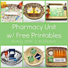 Pharmacy Unit with FREE Printables