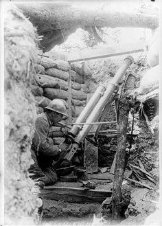 86-mm Boileau-Debladi pneumatic mortar  French   Army  WW1