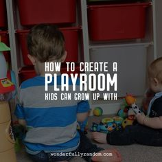 Creating a Play Room that your kids can grow with, a simple DIY project that will give you a dedicated space in your house to play #playroom #houseprojects #playroomstorage #storage