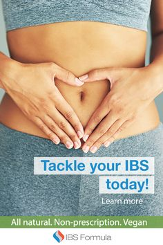 Tackle your IBS today!