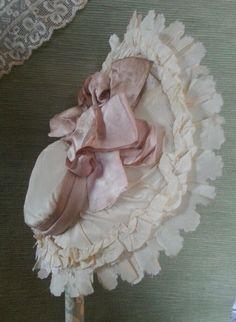 Cherie's Petite Boutique Pretty Silk Bonnet for BEBE | eBay