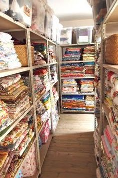 Fabric Heaven!!! Click on picture for more heavenly views :)