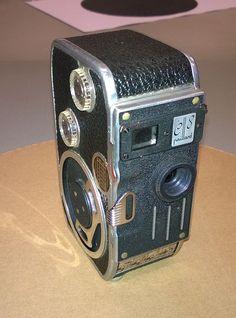 The broken 1962 Bolex C8 that donated the film gate
