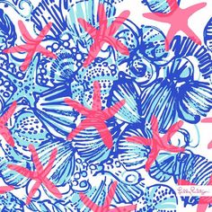 Lilly Pulitzer She She Shells Print