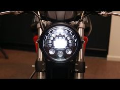 Completely transform the look of your Ducati by swapping out the stock headlight assembly with our Monster Headlight Bracket and headlamp. Ducati Monster S4r, Monster 696, Headlight Assembly, Cool Bikes, Motorcycle, Kit, Play, Cars, Lighting