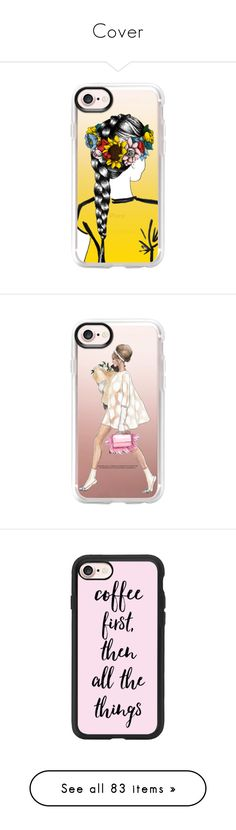 """""""Cover"""" by gloria-3789 ❤ liked on Polyvore featuring accessories, tech accessories, iphone case, clear iphone case, iphone cover case, apple iphone case, iphone cases, phone cases, phone and tech"""