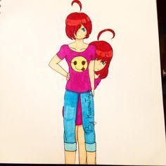 Voici un garçon et sa sœur jumelle, c'est mon tout premier garçon dites-moi votre avis dans les commentaires ^•^ #kun #boy #fille #girl #sisterandbrother #draw #drawing #anime #manga #kawaiitizia