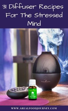 Learn how to beat stress with essential oils with these diffuser blends!