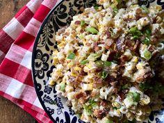 Creamy Summer Sweet Corn Pasta Salad
