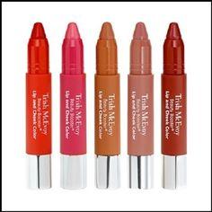 Trish McEvoy Beauty Booster Lip & Cheek Color Pencil- Cruelty-free | eBay