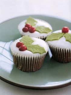 Cupcakes di Natale by Nigella Lawson #recipe
