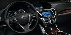 Interior of the New Acura TLX