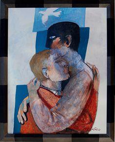 Gallery-Arcabas 'Reconciliación / Riconciliazione ' #reconcilliation #art * #ff