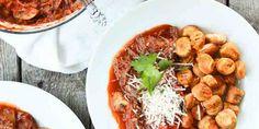 Beef Ragu and sweet potato gnocchi | paleOMG blog. Originally from the Simple Roots Wellness blog