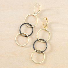 meander earrings