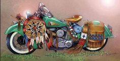 War pony'