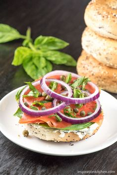 This Lox Bagels & Cream Cheese with Fresh Basil breakfast sandwich kicks it up a notch with herbed cream cheese and chives, topped with fresh basil leaves – making a delightfully fresh, light and luxurious healthy start to your day. There are breakfast sandwiches, and there are fancy schmancy all-grown-upbreakfast sandwiches. Are you ready toelevate...Read More »