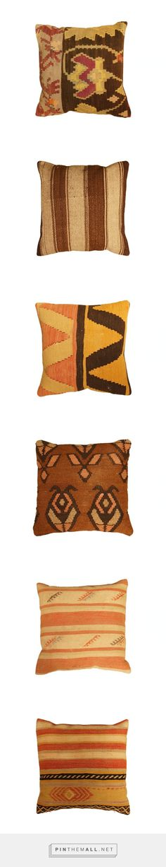 15% OFF until Mother's Day! | Pink and Brown Kilim Pillows | Floorplan Rugs