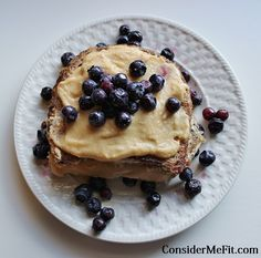 Stuffed French Toast (high protein, low carb, low calorie breakfast) - Consider Me Fit http://www.considermefit.com/articles/Stuffed_French_Toast_high_protein_low_carb