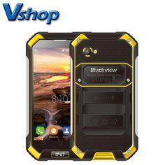 Original Blackview BV6000 4G LTE Mobile Phone Android 6.0 MTK6755 Octa Core 3GB RAM 32GB ROM 4.7 inch 720P Dual SIM Cell Phone
