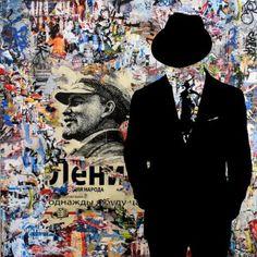 "Saatchi Art Artist Tehos Frederic CAMILLERI; Painting, ""Tehos - Ideological collapse 02"" #art"