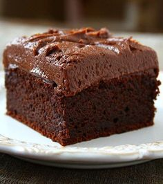 Chocolate Sour Cream Cake | Posted By: DebbieNet.com |