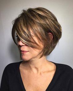 Short Layered Haircuts, Short Hairstyles For Women, Straight Hairstyles, Hairstyles Haircuts, Trendy Hairstyles, Hairstyle Short, Short Cuts, Wedding Hairstyles, Homecoming Hairstyles