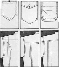 Shirts Pocket Drawing