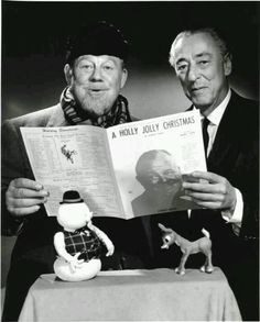 """Burl Ives, Johnny Marks 