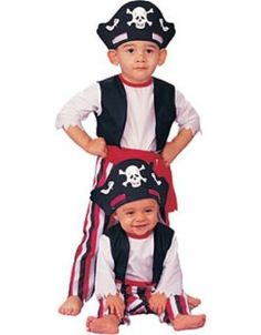 image detail for this toddler pirate costume includes the headpiece pirate costume