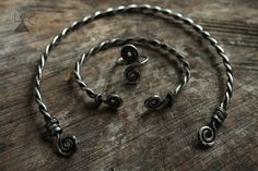 Celtic jewelry set