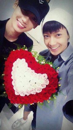 Kwangmin and Youngmin