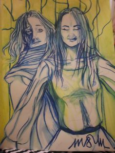 M&M matite colorate su cartoncino(A4) fatto da Maria Casacanditella