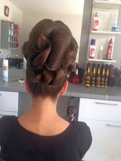Large Defined Curls Updo