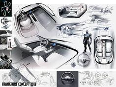 Board Volvo Concept Coupe