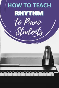 Rhythm skills are so important for piano students. I try to squeeze rhythm activities into as many piano lessons as possible. I find that it really helps students to work with rhythm outside of the context of playing music so that they have a good foundation and skills to draw from when tricky rhythms show up in music. #teachingpiano #pianoteacher #pianolessons #rhythm #music #teachingrhythmtokids Piano Lessons, Music Lessons, Online Lessons, Best Foundation, Teaching Tools, Small Groups, 5 Ways, Activities For Kids, Homeschool