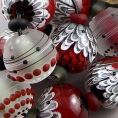 Magma Beads Braise Handmade Lampwork Beads | eBay