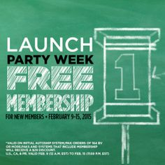 Free Autoship Membership  Launch Party Week  IsaFYIcom