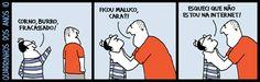 Malvados - quadrinhos de humor